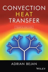 Convection Heat Transfer, 4th Ed.